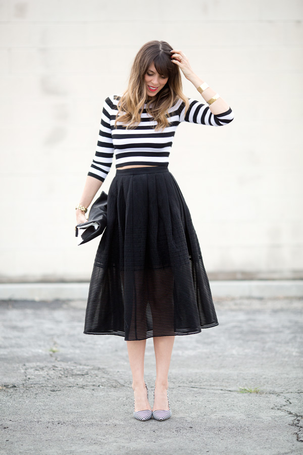 2014年秋は美脚効果バツグンの『ミモレ丈スカート』をプチプラでうまく着こなそう♡♡ | GIRLY
