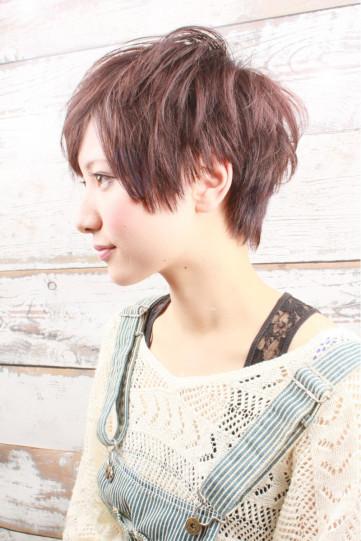 ショートヘア女子はワックスでおしゃれにアレンジ スタイリングの基本