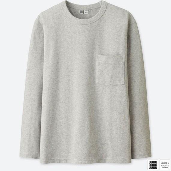 クルーネックT(長袖)+E