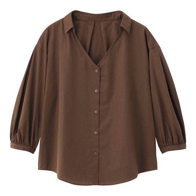 パフスリーブシャツ(7分袖)SB